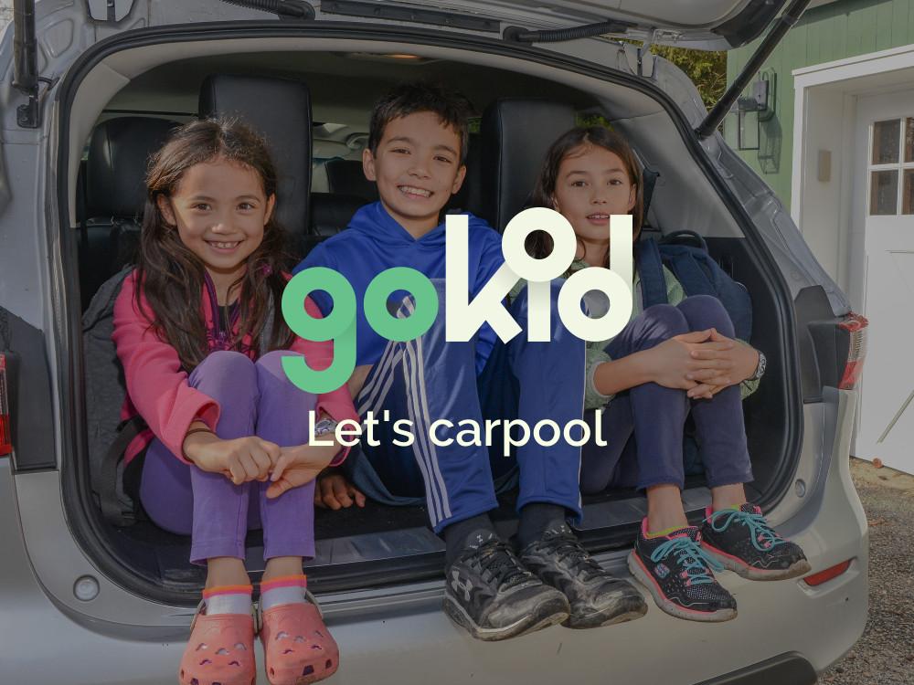 GoKid Carpool App - The Best Carpool App for Active Families