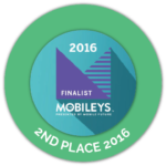 Award - Mobileys 2nd Place 2016